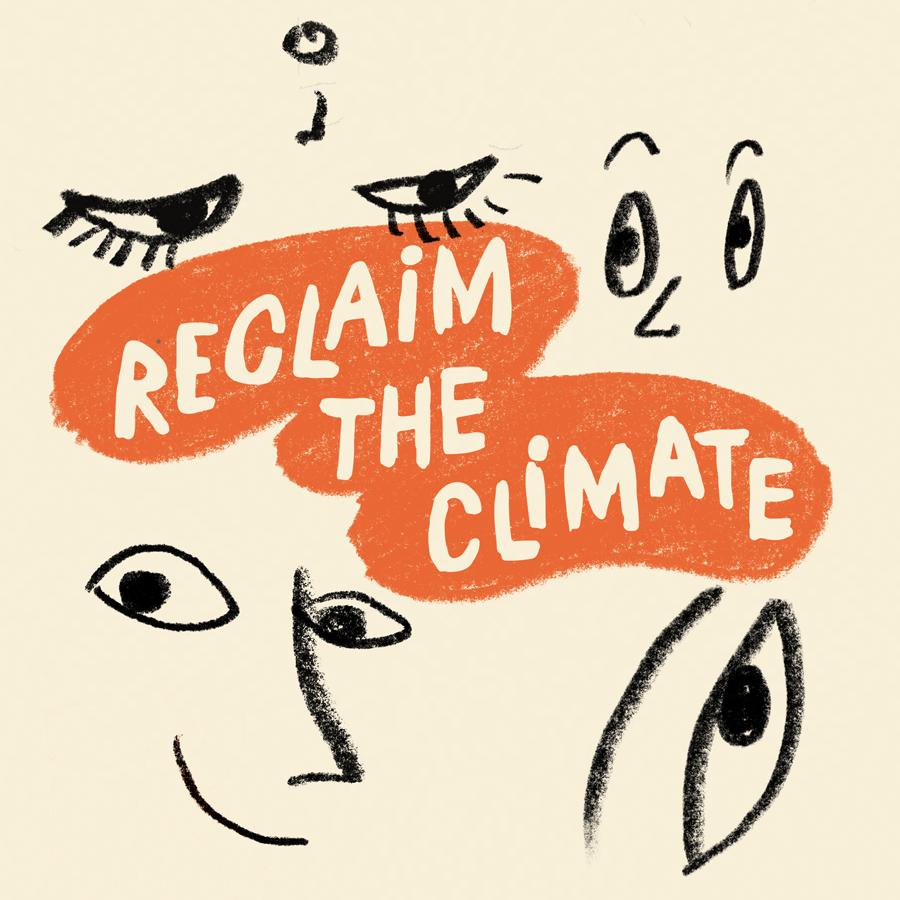 Logo reclaim the climate